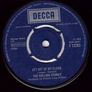The Rolling Stones - Get Off Of My Cloud - Decca - F 12263