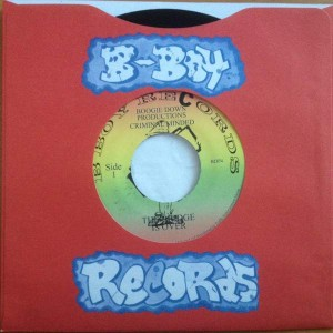 Boogie Down Productions - The Bridge Is Over / Remix For P Is Free - B-Boy Records - BDP4
