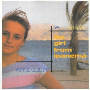 Astrud Gilberto - The Girl From Ipanema - Verve Records - IPAX 1, Polydor - IPAX 1