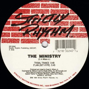 The Ministry - Tribal Trance - Strictly Rhythm - SR12240