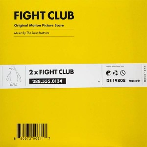The Dust Brothers - Fight Club (Original Motion Picture Score) - Mondo - MOND-041