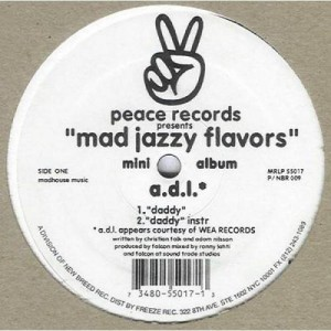 Various - Mad Jazzy Flavors - Peace Records - P / NBR 009, New Breed - P / NBR 009, Freeze Records - MRLP 55017
