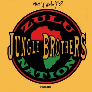 "Jungle Brothers - What ""U"" Waitin ""4""? (Remixes) - Eternal - W9865TX, Eternal - 7599-21527-0, Warner Bros. Records - W9865TX, Warner Bros. Records - 7599-21527-0"