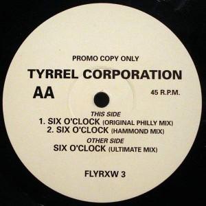 Tyrrel Corporation - Six O'Clock - Volante - FLYRXW 3, Chrysalis - FLYRXW 3