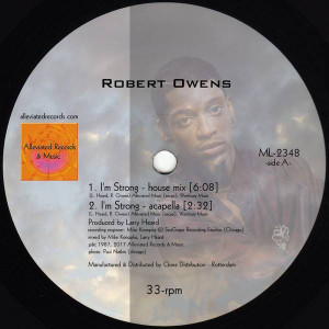 Robert Owens / Mr. Fingers - I'm Strong - Alleviated Records - ML2348
