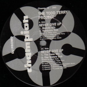 The Todd Terry Project - Never Give Up - Champion - CHAMP 12-282