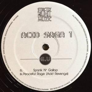 Glenn Underground - Acid Saga 1 - Strictly Jaz Unit Muzic - SJU12R26