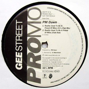 P.M. Dawn - Reality Used To Be A Friend Of Mine - Gee Street - GEETP37