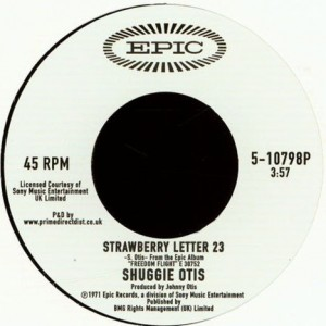 Shuggie Otis - Strawberry Letter 23 / Ice Cold Daydream - Epic - 5-10798P
