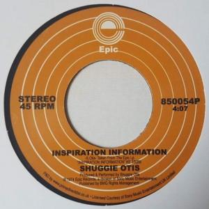 Shuggie Otis - Inspiration Information / Aht Uh Mi Hed - Epic - 850054P