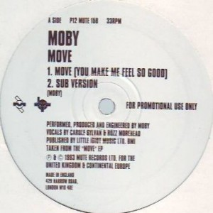 Moby - Move - Mute - P12 MUTE 158