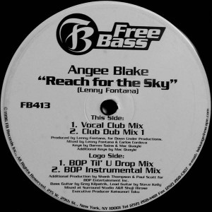 Angee Blake - Reach For The Sky - Free Bass - FB413