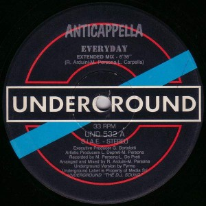 Anticappella - Everyday - Underground - UND 532