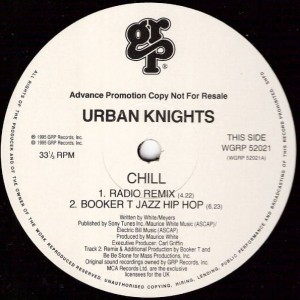 Urban Knights - Chill - GRP - WGRP 52021
