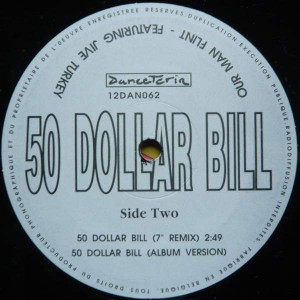 OMF Featuring Jive Turkey - 50 Dollar Bill - Danceteria - 12DAN062