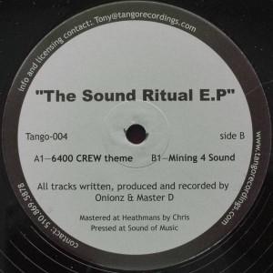 Elektrik Soul Brothers - The Sound Ritual E.P - Tango Recordings - TANGO 004