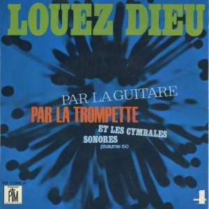 Jef Gilson - Louez Dieu N° 4 - Pastorale Et Musique - PM 17058