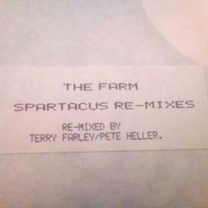 The Farm - Spartacus Re-mixes - Produce Records - MILK LP 1 RT