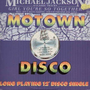Michael Jackson - Girl You're So Together - Motown - TMGT 1355