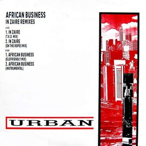 African Business - In Zaire Remixes - Urban - URBXR 64