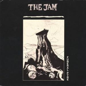 The Jam - Funeral Pyre - Polydor - POSP 257