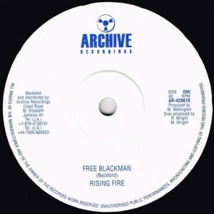 Rising Fire - Free Blackman - Archive Recordings - AR-420610
