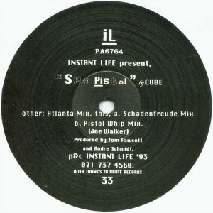 Cube - Sex Pistol - Instant Life Records - PA6764
