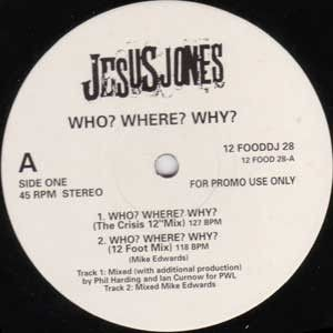 Jesus Jones - Who? Where? Why? - Food - 12 FOOD DJ  28