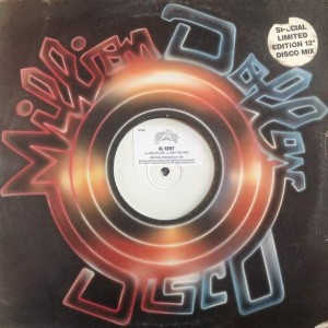 Al Kent - Back In Love / Keep The Faith - Million Dollar Disco - MDD005