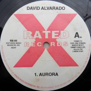 David Alvarado - Aurora - Rated X Records - RX-05