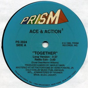 Masta Ace & Action - Together / Letter To The Better - Prism - PS 2024