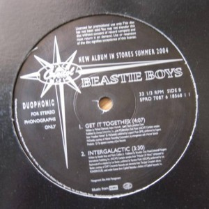 Beastie Boys - Get It Together / Intergalactic - Capitol Records - SPRO 7087 618568 1 1