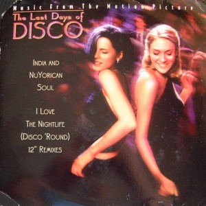 India And Nuyorican Soul - I Love The Nightlife (Disco Round) - Work - 42X 78935, Work - OS 78950