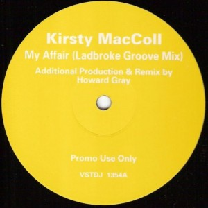 Kirsty MacColl - My Affair - Virgin - VSTDJ 1354