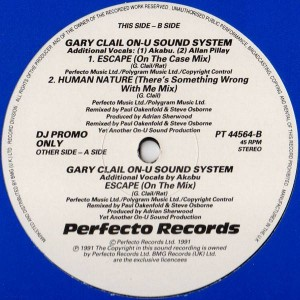 Gary Clail & On-U Sound System - Escape - Perfecto - PT 44564