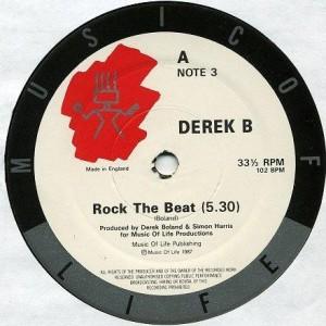 Derek B - Rock The Beat - Music Of Life - NOTE 3