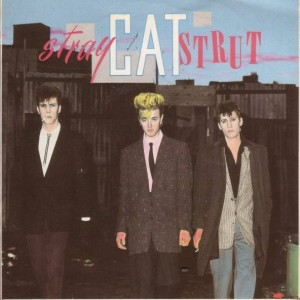 Stray Cats - Stray Cat Strut - Arista - SCAT 3