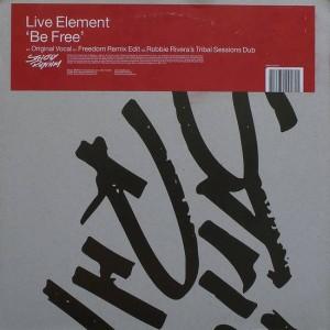 Live Element - Be Free - Strictly Rhythm UK - SRUK1211