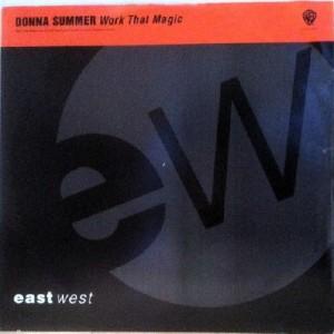 Donna Summer - Work That Magic - Warner Bros. Records - SAM 935, EastWest - SAM 935