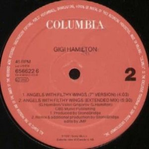 Gigi Hamilton - Angels With Filthy Wings - Columbia - 656622 6