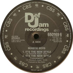 Beastie Boys - It's The New Style / Paul Revere - Def Jam Recordings - 650169 6