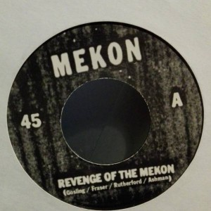 Mekon - Revenge Of The Mekon - Wall Of Sound - WALL S 012