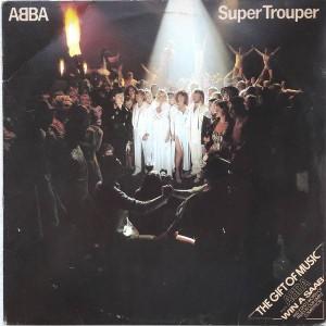 ABBA - Super Trouper - Epic - EPC 10022, Epic - S EPC 10022