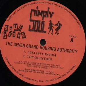 Seven Grand Housing Authority - Soul Beats - Simply Soul - S5004