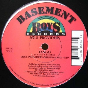 Soul Providers - Tango - Basement Boys Records - BBR-030