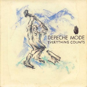 Depeche Mode - Everything Counts - Mute - 7 BONG 3