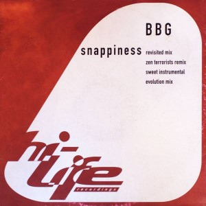 BBG - Snappiness - Hi Life Recordings - 576297-1
