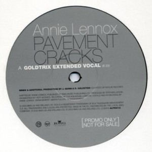 Annie Lennox - Pavement Cracks - 19 Recordings - ALTRIX 12, RCA - ALTRIX 12, BMG UK & Ireland - ALTRIX 12