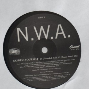 N.W.A. - Express Yourself - Priority Records - Y 0946 3 41777 1 9, Capitol Records - Y 0946 3 41777 1 9