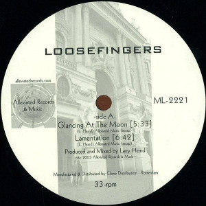 Loosefingers - Glancing At The Moon - Alleviated Records - ML-2221